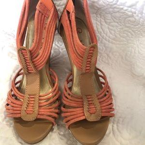 Seychelles strappy peeptoe heels